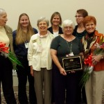 Ginger & Award Recipients NCGS Annual Meeting 2015